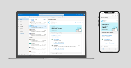 Cortana Briefing Email